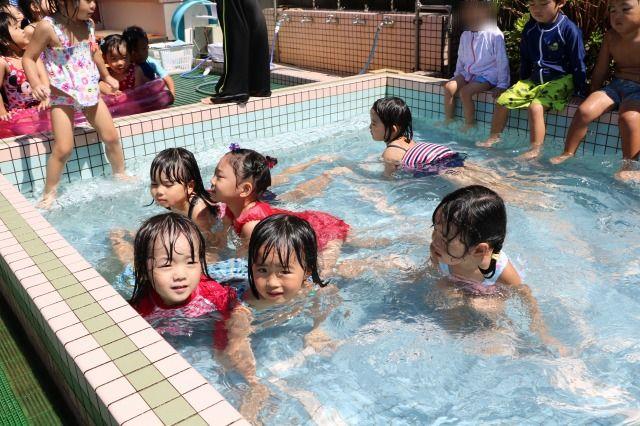 【高知幼稚園】プール納め