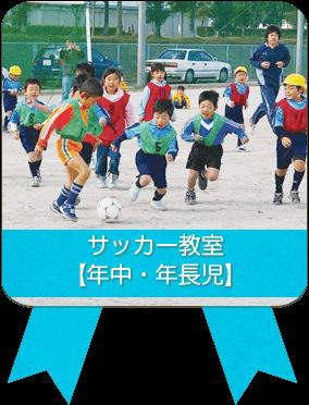 サッカー教室【年中・年長児】