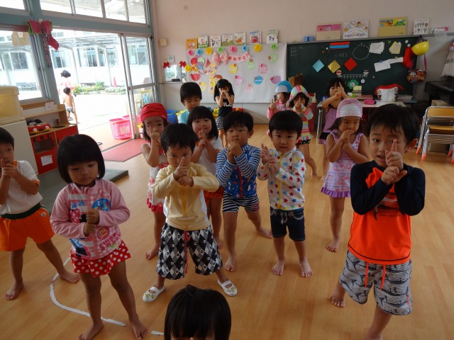 【高知幼稚園】踊りの練習